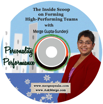 Personality Performance – The inside scoop on forming high-performing teams